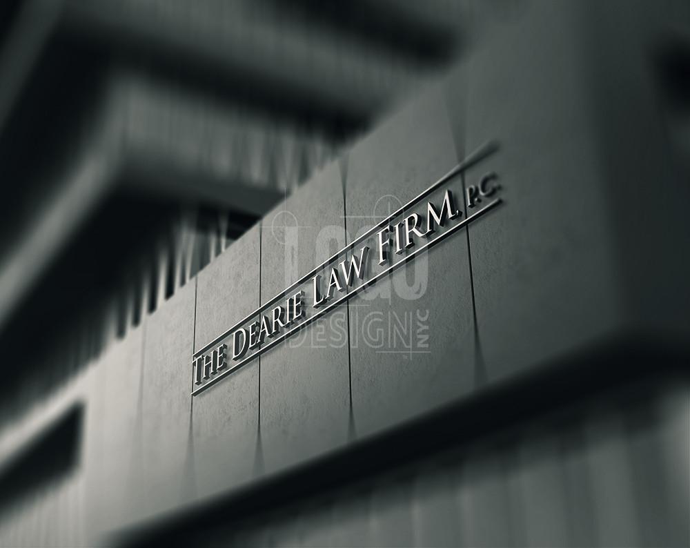 Logo design law firm nyc