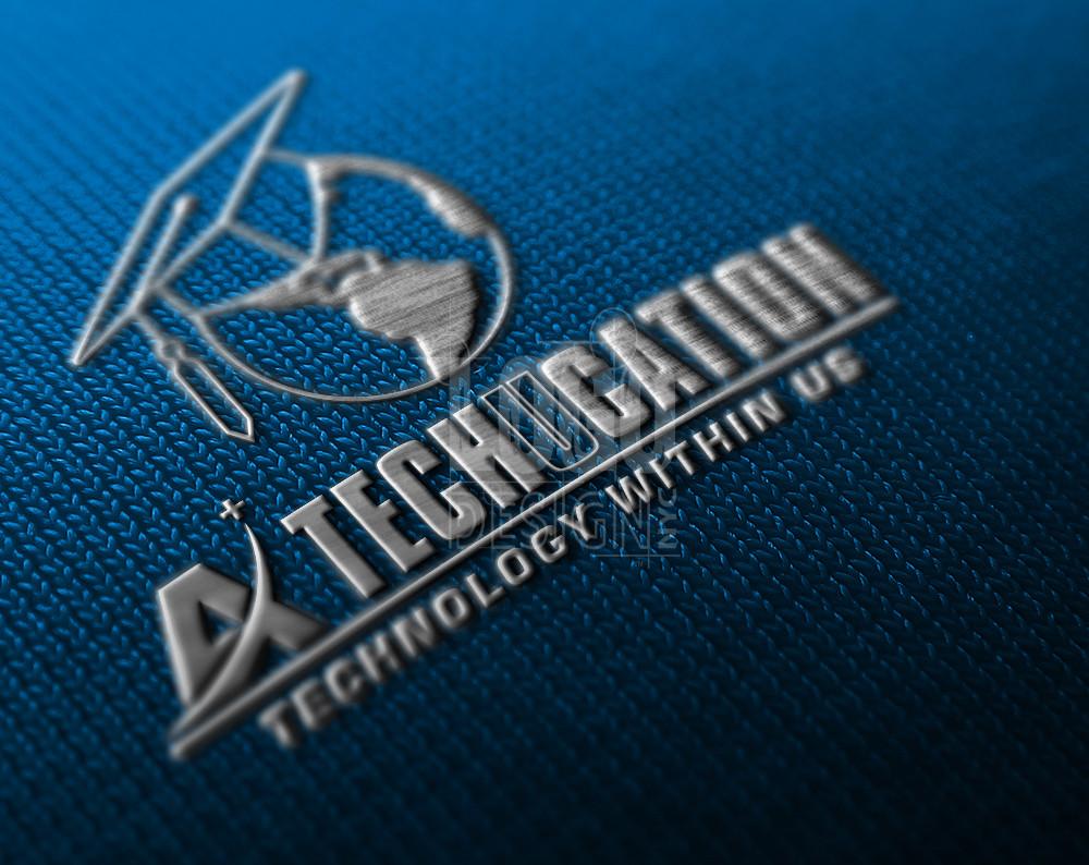 Tech logo design for a technical education center in Texas.