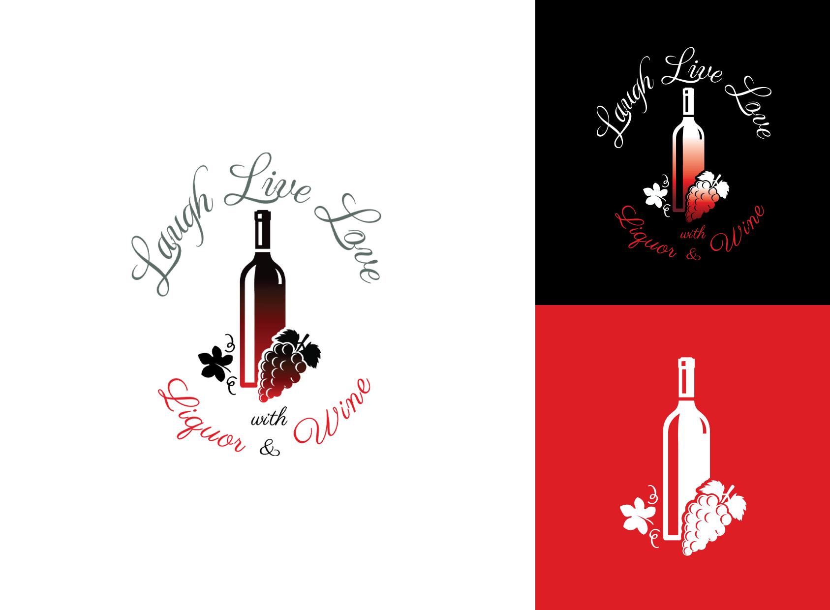 logo brand design liquor store