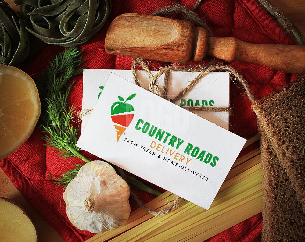 Logo design food delivery
